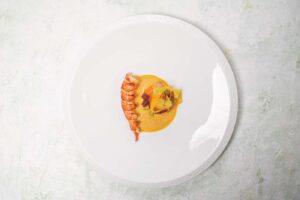 fine dining fish dish